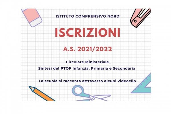 iscrizioni as 2021/22